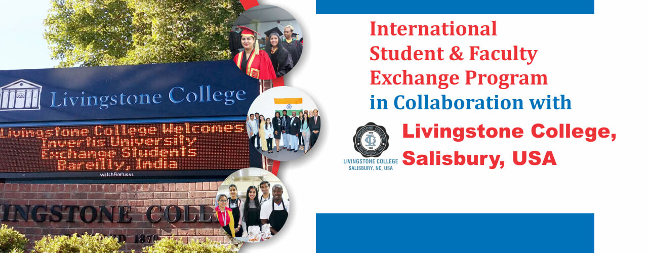 Invertis University Foreign University Livingstone College